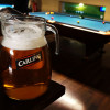 Four pint jug of Carling for £12