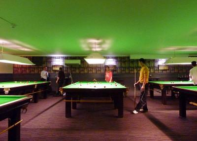 Mezzanine Snooker room